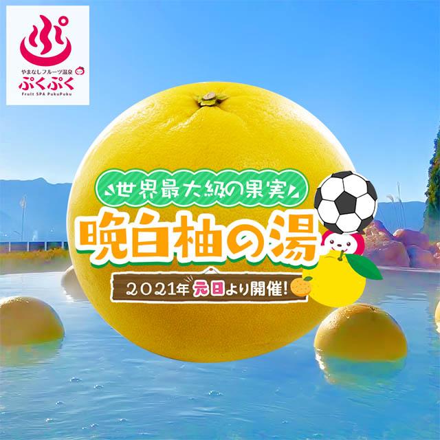2021晩白柚の湯